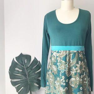 Prana • Recycled Paisley Jersey Dress